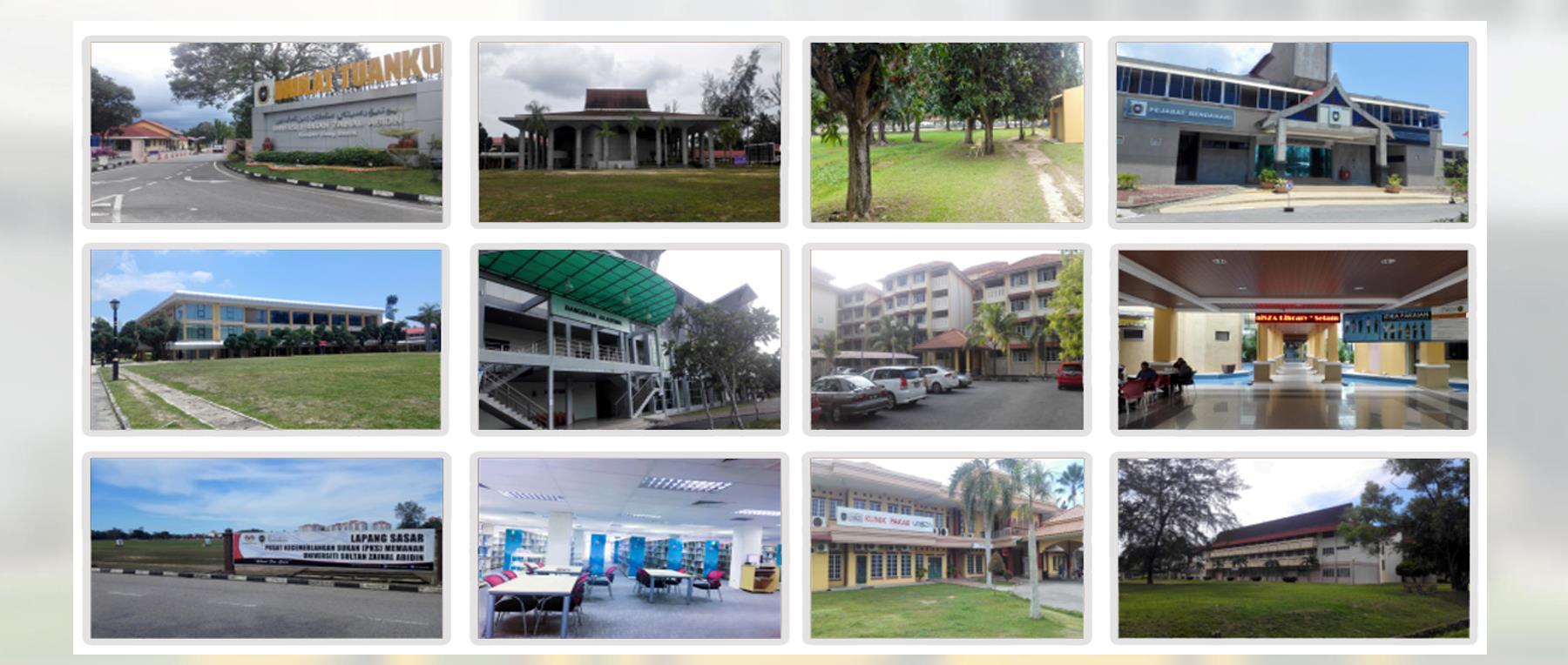 马来西亚苏丹再纳阿比汀大学校园风景
